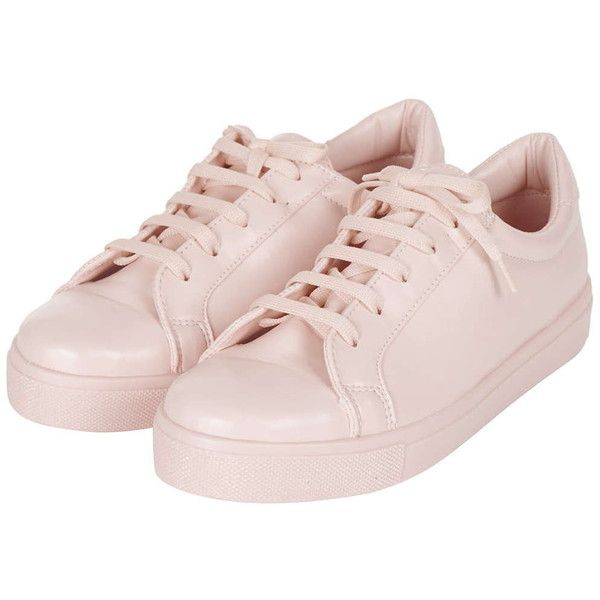 TOPSHOP COPENHAGEN Drenched Sneakers ($35) ❤ liked on Polyvore featuring shoes, sneakers, zapatillas, laced shoes, topshop shoes, topshop, lacing sneakers and fancy footwear