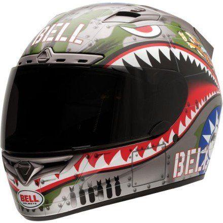 Bell Motorcycle Helmet >> Bell Vortex Helmet – Flying Tiger (X-LARGE) (CAMO) | Helmet, Full face motorcycle helmets ...