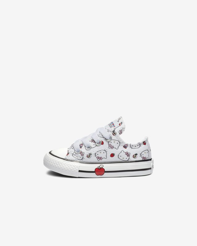 41317553dea2de Converse x Hello Kitty Chuck Taylor All Star Low Top Infants  Shoe ...