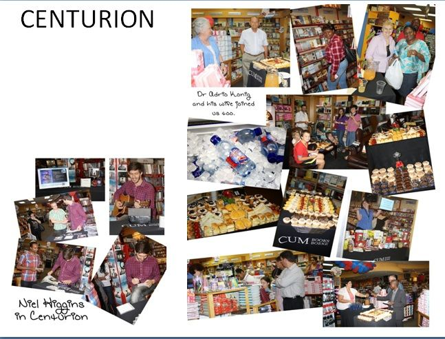 CUM Centurion is celebrating 22 years! CD Signing - NEIL HIGGINS 19 Oct 2013