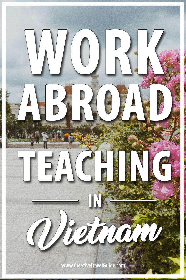 Frances shares her experience moving, living and teaching in Vietnam