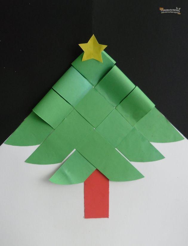 Kerstboom vouwen * niveau 3*