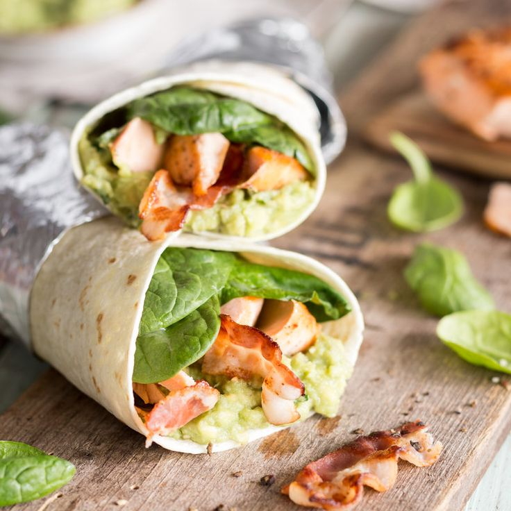 Lachs-Guacamole-Wraps mit Bacon_featured