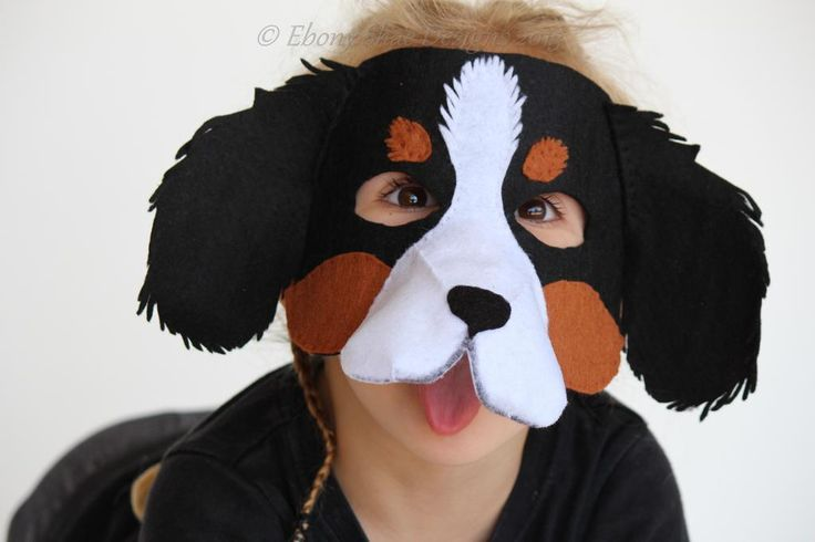 Super cute and easy to sew Dog mask pattern by Ebony Shae Designs.  You can make this mask with just a few pieces of felt and some hat elastic.  Just $4.50 AUD (Cheaper in the US).  Check out the other patterns in store!