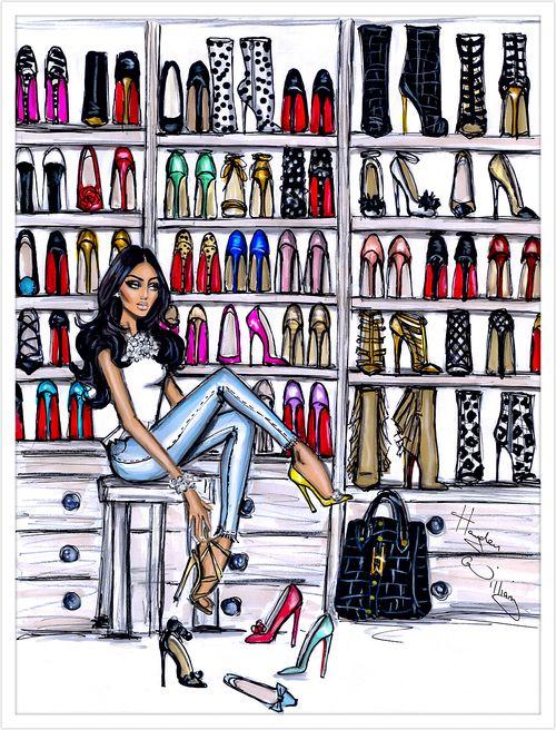 Shoe Closet by Hayden Williams