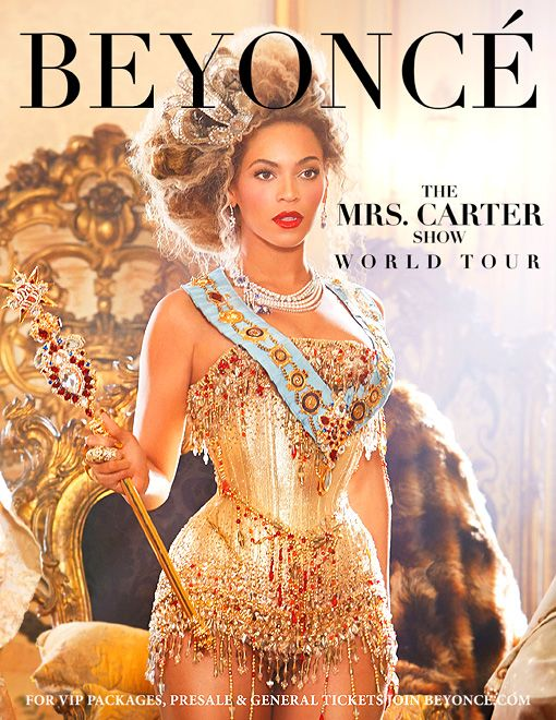Beyonce - The Mrs. Carter Show World Tour