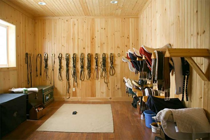 Wood Boards In A Tack Room Tack Room Ideas Pinterest