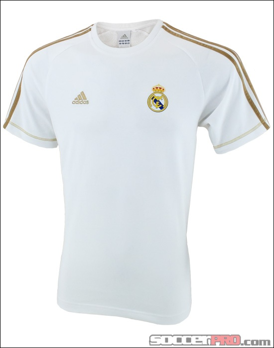 The Adidas Real Madrid Core Tee - White...$26.99