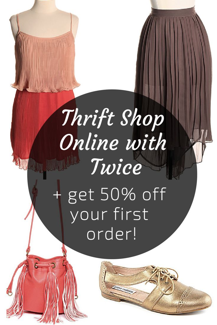 How to Thrift Shop Online – Plus, Get 50 Percent Off Your Purchase