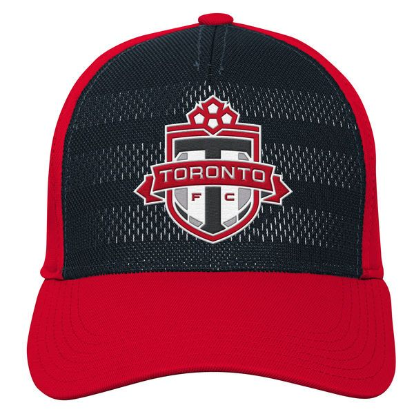 * Youth Toronto FC adidas Black/Red Authentic Structured Flex Hat, Your Price: $25.99