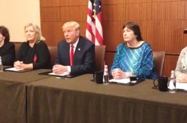 BRILLIANT! Trump Punks The Media in Pre-Debate Presser With Clinton Abuse Victims