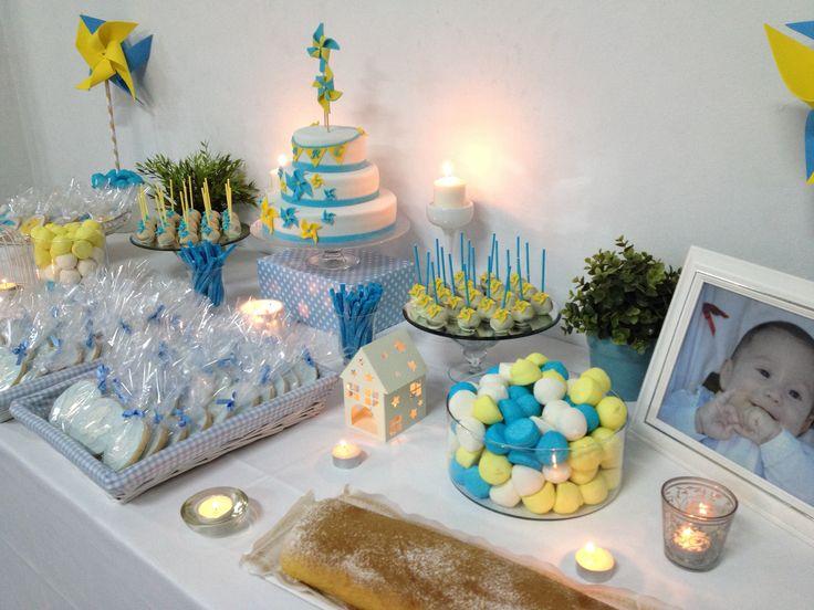 Mesa dulce bautizo bautizo pinterest mesas for Mesa dulce para bautismo