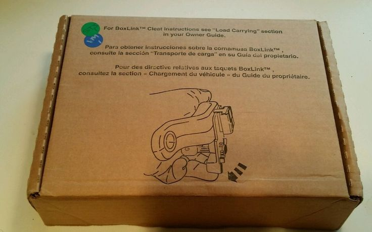 Ford F150 - 2015 Truck Bed Accessory BoxLink Tiedown Cleats