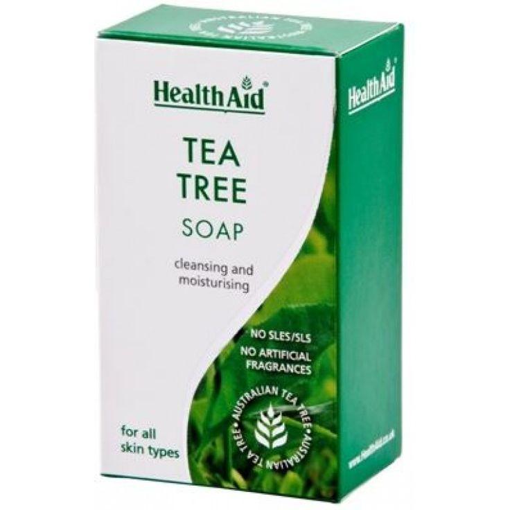 Tea Tree Oil Soap 100g £2.99
