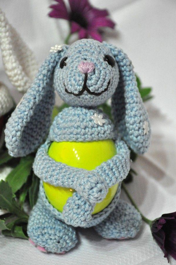 Eierwärmer Osternest Hasen
