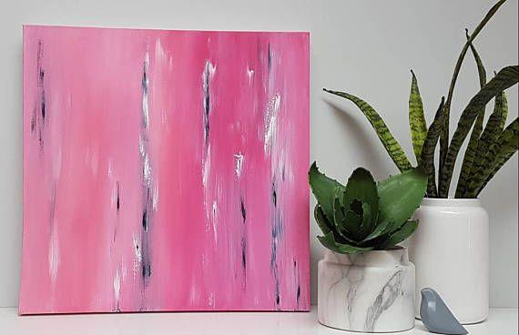 Fuchsia Crush - just listed online!  https://www.etsy.com/au/listing/513094050/fuchsia-crush-original-acrylic-painting