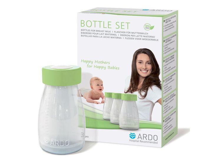 Ardo Breastmilk Bottle Set