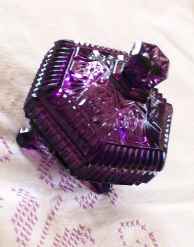Purple Depression Glass