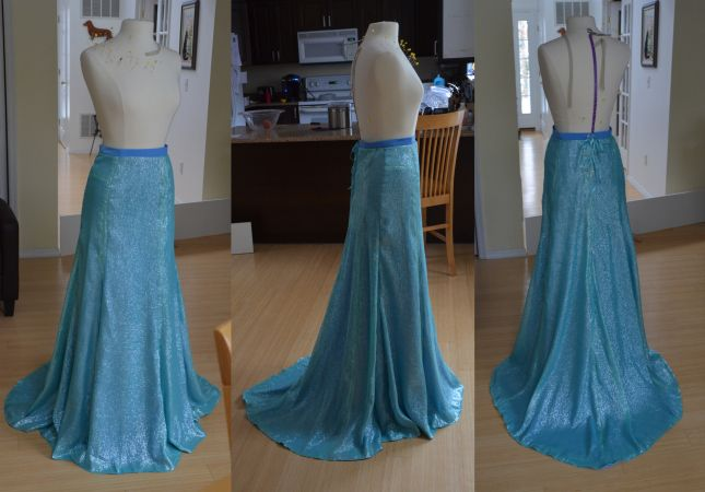 The Making of Elsa – Frozen – Part One | Angela Clayton's Costumery & Creations