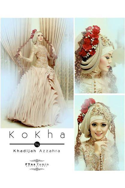 kokha by khadija azzahra, young designer from indonesia