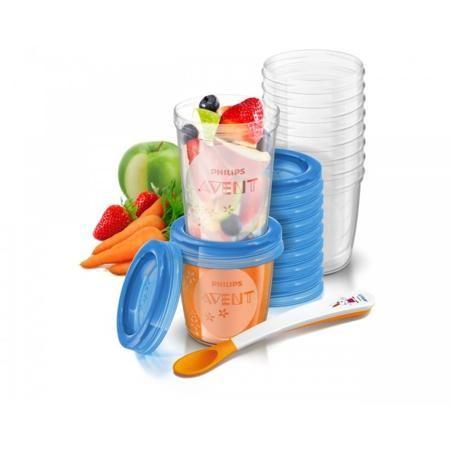 """Philips Avent Контейнеры с крышками для хранения питания  10шт х 240мл  — 2284р.  Контейнеры для хранения продуктов Philips Avent универсальны, просты в использовании и """"растут"""" вместе с вашим ребенком. Контейнеры идеально подходят для хранения продуктов как дома, так и в поездках. Ключевые особенности: -Надежная герметичная крышка -Можно писать на контейнерах и крышках -Составные контейнеры и крышки -Компактное размещение в холодильной и морозильной камерах -Простота использования и очистки…"""