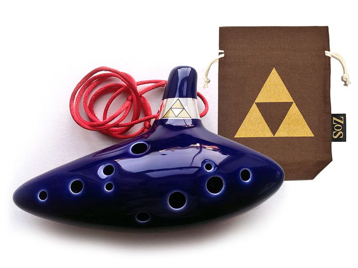 Legend of Zelda : Ocarina of Time Professional Replica +  Limited Edition Bag, Song Book, Cleaning Cloth and 2 Necklaces by ZeldaOcarinaStore on Etsy https://www.etsy.com/listing/179702686/legend-of-zelda-ocarina-of-time