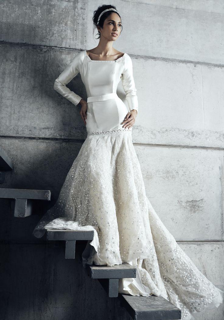 Gerald C Wedding Dresses : On mermaid hem weddings melindalooi melindalooiivory ivory bridal