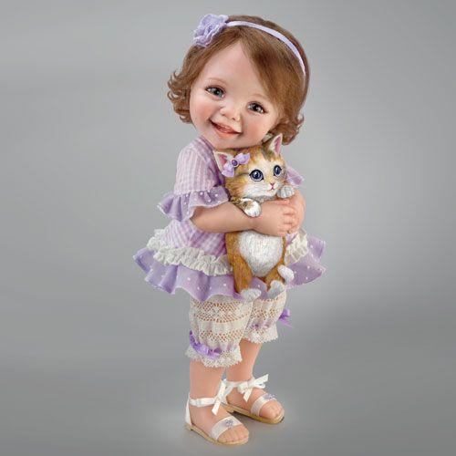 Кукла из смолы - Добро пожаловать домой, котик!  в Москве на www.rusbutik.ru