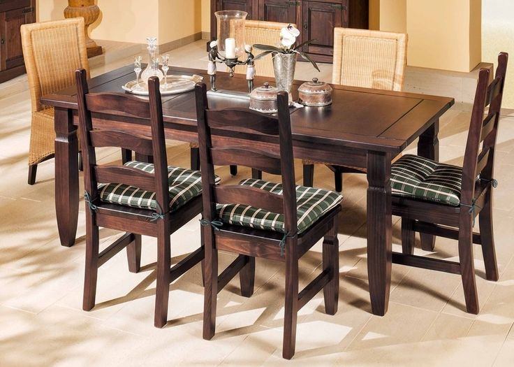 Landhaus Tischgruppe Mexican Henke Möbel Kiefer Massiv Kolonial 21195. Buy  Now At Http:/