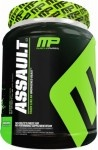-MusclePharm Assault- $33.99   Assault is one of the best valued supplements you will ever find! It is one of the most affordable pre-workout options available if you want proven ingredients that synergistically work together to give you the best workout of your life. Assault has gotten high user ratings for its amazing formula, great taste and most importantly – it works!