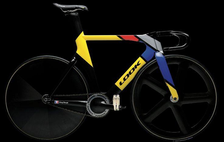 Le vélo officiel de l'Equipe de France de piste aux #JO2012 ferait un sacré #fixie