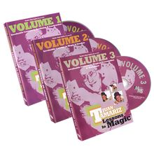 3 Vol. Combo Juan Tamariz Lessons in Magic