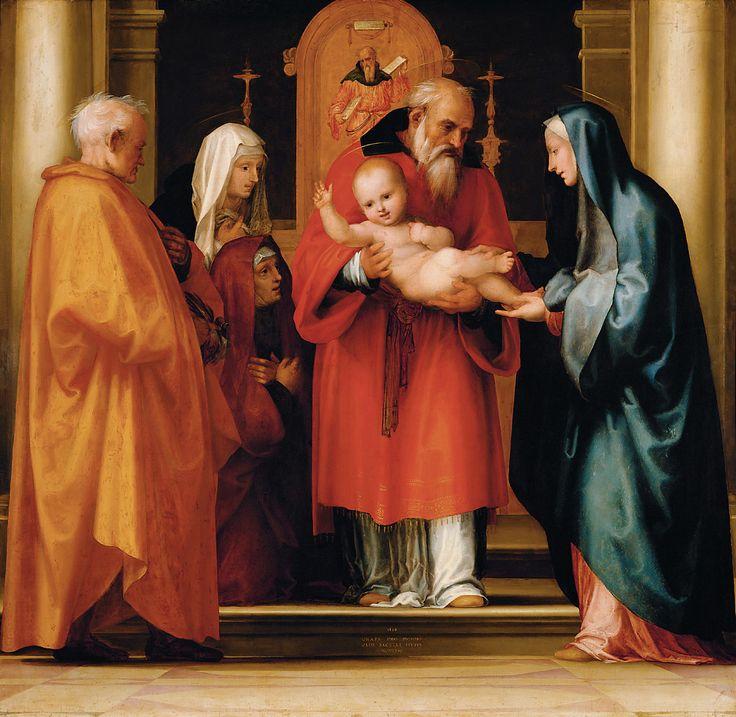 1516, Künstler:Baccio della Porta, gen. Fra Bartolomeo, , Kunsthistorisches Museum Wien, Gemäldegalerie