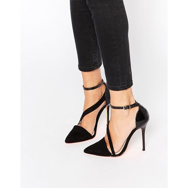 Studded Strappy Pointed Toe Pumps: Charlotte Russe. Similar to the
