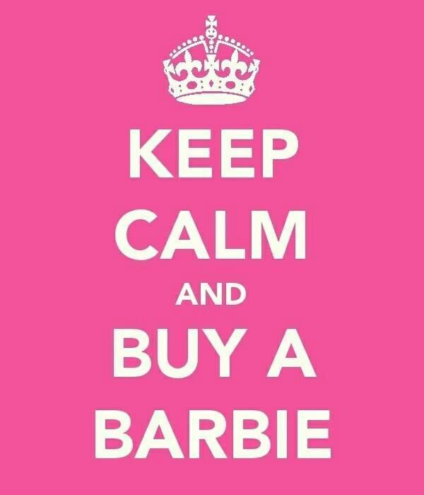 1000 images about barbie dolls addicted on pinterest for Immagini keep calm