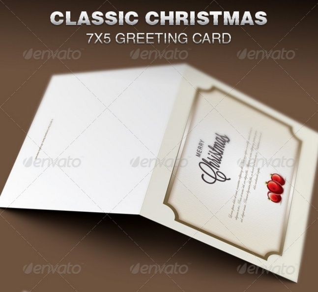 20+ Greeting Card Template PSD for Christmas and NewYear 20+ - greeting card template