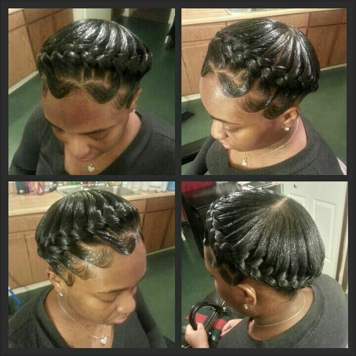 Halo Braids Cute Protective Styles Hair Styles