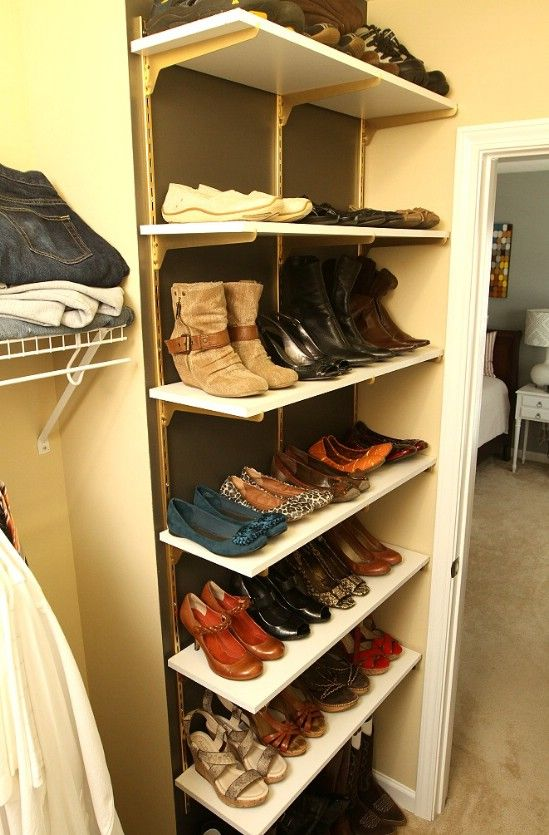 10 Clever And Easy Ways To Organize Your Shoes Shoe Rack