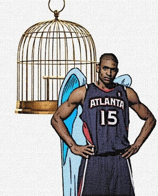 """Al Horford with wings"" That's how Teach described the photo he ask me to create for this article. I'm not sure what I think of it but the accompanying article is pretty good."