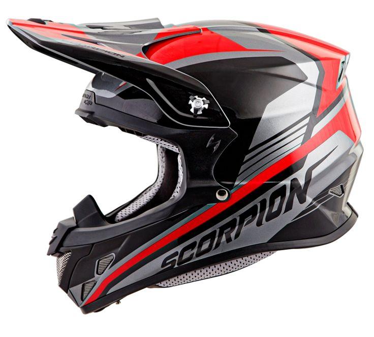Scorpion VX-R70 ASCEND (SYL/RED) DOT+ECE *Snow Compatible*