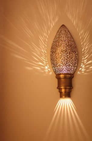 Moroccan Sconce.