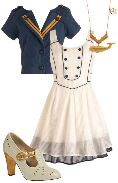 Image result for nautical style women's clothing