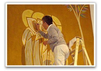 Cláudio Pastro  é o mais significativo artista sacro brasileiro, com especialização no Liceu de Artes e Ofícios (São Paulo), na Abadia ...