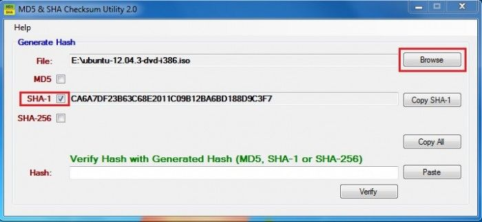 MD5 SHA Checksum Utility Pro download free for windows 10 pro 64bit