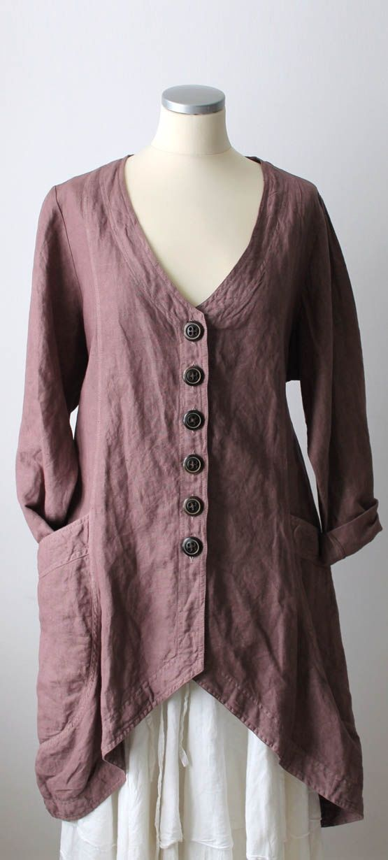 asymmetrical top with buttons