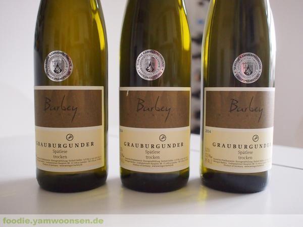 Weine vom Weingut Barbey