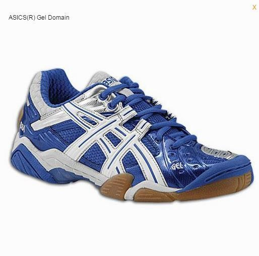 Asics Women's GEL-Domain Multicourt Volleyball Shoes Size 12 Royal Blue # ASICS #VolleyballShoes