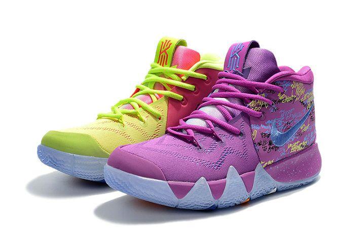 brand new db98a 9e424 2018 Discount Nike Kyrie 4 Confetti Multi-color Multi-color AJ1691-900