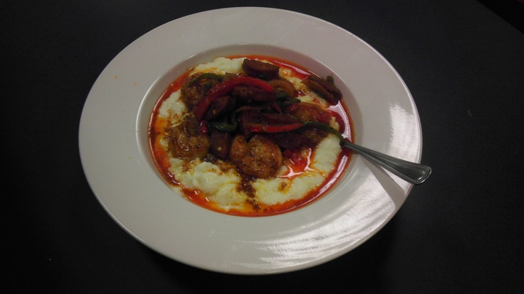Shrimp & Grits! | Look What's on our Menu! | Pinterest | Shrimp Grits...