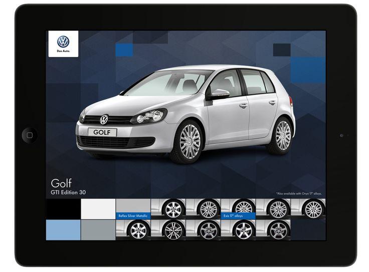 Project: Volkswagen 2012 Motorshow iPad App. Role: Producer. Agency: Tribal DDB.